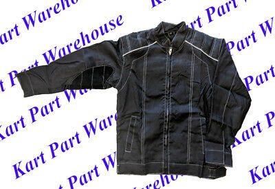 Go Kart Racing Jacket with Heat Shield/Patch on Right Arm (ALL SIZES ARE YOUTH)