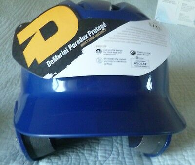 DeMarini Paradox Fitted Pro Batting Helmet Large/XL 7-5/8 Navy Blue NEW