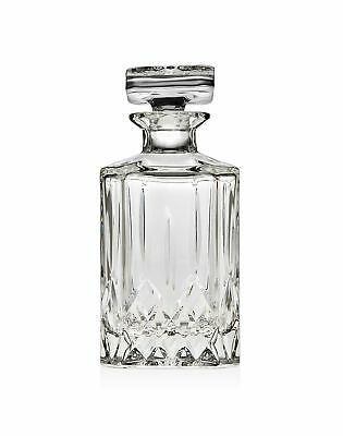 James Scott Crystal Liquor Decanter with Stopper-Whiskey Decanter for Wine, B...