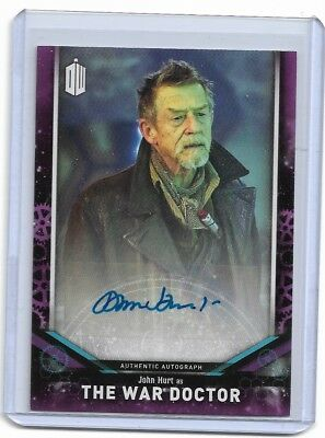 John Hurt As The War Doctor 2018 Doctor Who Auto Autograph