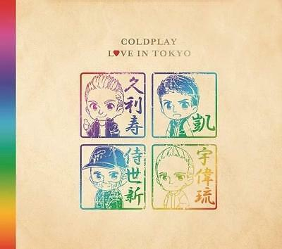 2018 JAPAN CD COLDPLAY LOVE IN TOKYO DIGIPAK CD LIMITED WITH 1ST PRE From japan
