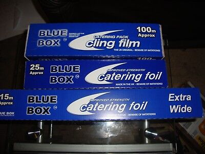 Kitchen/Catering Cling Film & Aluminium Foil! | Wrap/Tin/Food Use/Stretch/Shrink
