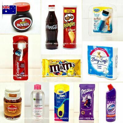 Little Shop Minis - Miniature Coca Cola, Scholl, M&M's, Pringles and more!
