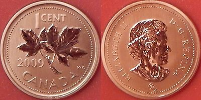 Specimen 2009 Canada Magnetic 1 Cent From Mint's Set