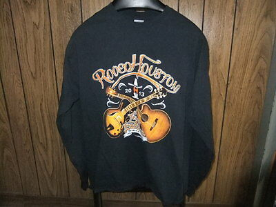 2013 Rodeo Houston concert shirt Texas Tradition large long sleeve star studded