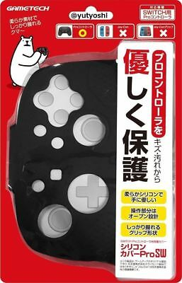 GAMETECH Nintendo switch Protective cover for Pro controller Silicone Black New