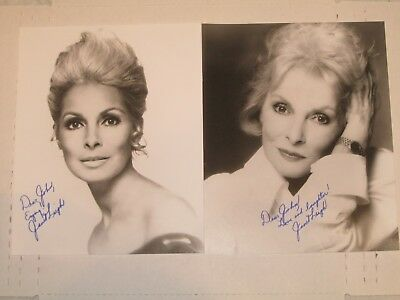 JANET LEIGH  Autographed Photos  Decades Separated  PSYCHO  60 years an actress!