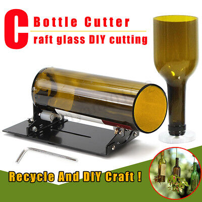 Glass Bottle Cutter Machine Cutting Tool For Jar Winebottle Recycle DIY Craft