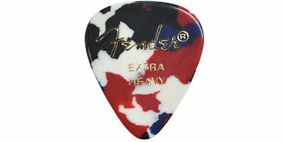 NEW FENDER / 351 Shape Confetti Extra Heavy GUITAR PICKS FreeShipping