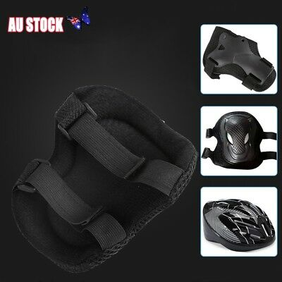 7PCS Adults Knee Pad and Helmet Sport Safety Protective Guard Support Gear Set
