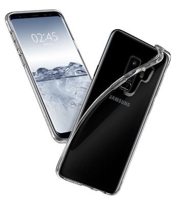Samsung Galaxy S9+ Case Shock Proof Crystal Clear Soft Silicone Gel Bumper Cover