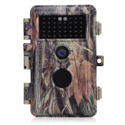 BlazeVideo Hunting Trail Camera 16MP HD 1080P Video Wildlife Infrared Game Cam