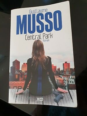Central Park. Guillaume Musso. Roman éditions XO