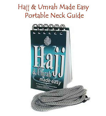 Hajj & Umrah Made Easy with rope ( Good Size Islamic Book ( Brand new ) x 1