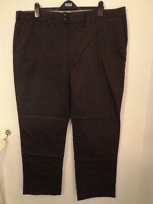 M/&s Blue Harbour Climate Cont Active Waist Trousers W46 L31 Bnwt Free Sameday Pp