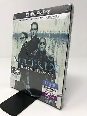 The Matrix Revolutions (4K Ultra HD + Blu-ray + Digital)