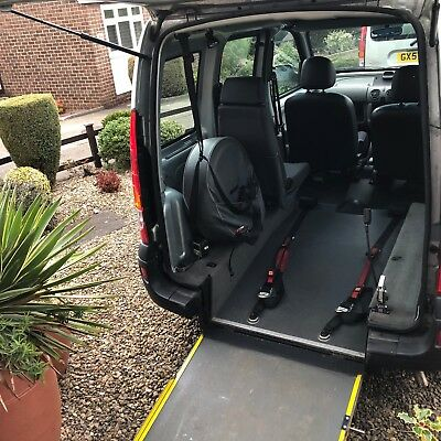 2007 07 Renault Kangoo Wheelchair Accessible Rear Ramp