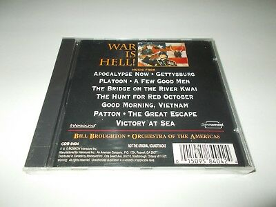 Bruce Broughton War is Hell: Battle Music from the Movies CD 1994 Intersound