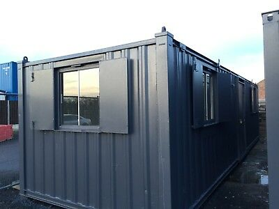 32x10ft Anti Vandal Site Office / Site Cabin / Portable Building / Canteen