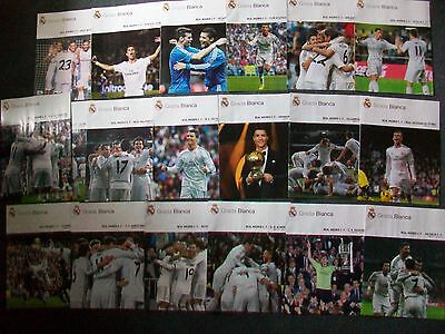 Real Madrid Home Programmes 2011 to 2018: La Liga, Supercup Final, Cup Final