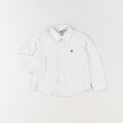 Camisa color Blanco marca Benetton 24 Meses  521635