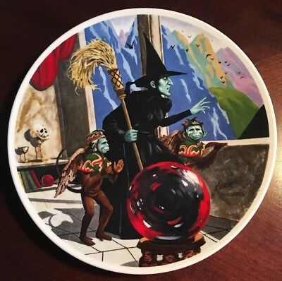 Knowles 1979 Wizard of Oz Collectors Plate The Wicked Witch West Flying Monkey