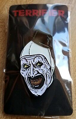 The Terrifier Art the Clown Enamel Pin Trick or Treat Studios