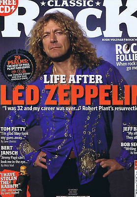 Classic Rock Magazine - Issue 102 - February 2007 - Led Zeppelin - Tom Petty