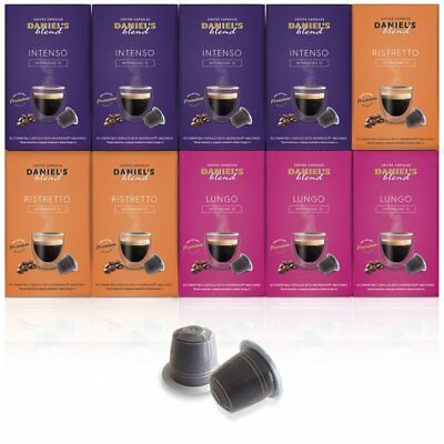 Daniels Blends - 100 Nespresso Machine Compatible Coffee Capsules Coffee Pods -