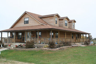 $40,000 equity- Springfield MO. 5 BD. 4 BA. 3744 SF. 2 Large shops. 3.5 acres