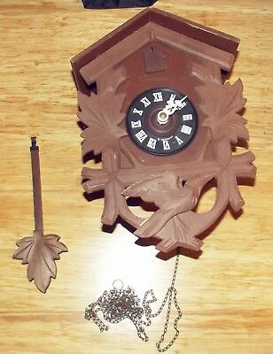 Older West German Cuckoo Clock Cuckoo Clock Mfg. Co. Inc to Restore or For Parts