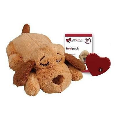 NEW Snuggle Puppy Behavioral Aid Toy in Biscuit by SmartPetLove FREE SHIPPING