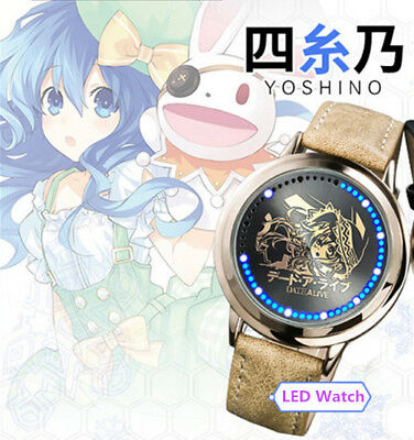 Anime Date A Live Tokisaki Kurumi Led Watch Waterproof Touch Screen Digital Light Watch Wristwatch Cosplay Props Gift New Costume Props Costumes & Accessories