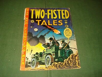Two Fisted Tales #23, Ec Comic, 1951,  Original Series
