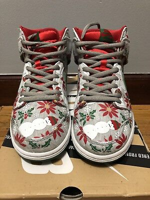 abe45711 NIKE SB DUNK High Concepts Ugly Christmas Sweater Size 10.5 CNCPTS ...