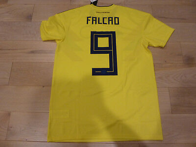 ca22a0d9074 NWT Adidas 2018 World Cup Colombia  9 Radamel Falcao Yellow Home Jersey  (Medium)
