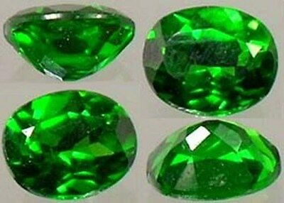 RARE ½ct Russian Chrome Diopside Yakutsk Emerald Frozen Tundra God Gem Vesuvius