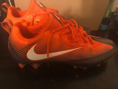 BRAND NEW Nike Vapormax Football Cleats Size 12. Orange/Blue/White