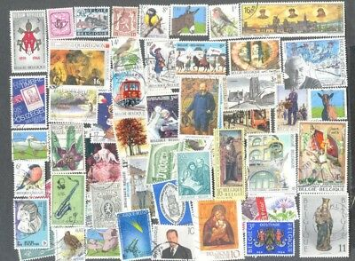 Belgium 500 all different stamps good postmarks