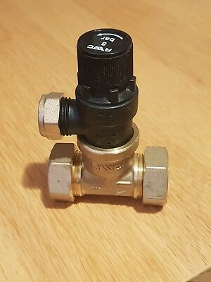 Reliance inline safety valve set at 8 bar rwc with non return valve check valve