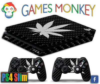 Faceplates, Decals & Stickers Cannabis Bob Marley Limited Edition Decal Cover Playstation 4 Skin Ps4 Slim