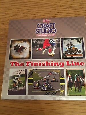 The Finishing Line - Sports Crafting Cd Rom My Craft Studio Mens Cards Paper