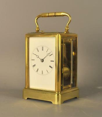 Drocourt Bell Striking Repeating Carriage Clock