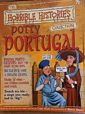 The Horrible Histories Collection Magazine #76 Potty Portugal