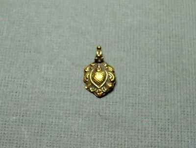 Ancient Small Gold Pendant Late Period 500-200 Bc
