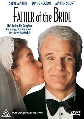 Father Of The Bride (1991) Steve Martin - NEW DVD - Region 4