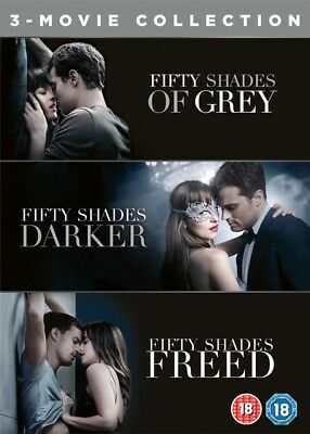 Fifty Shades Of Grey 1-3 Movie Collection Complete Dvd Box Set New Freed Darker