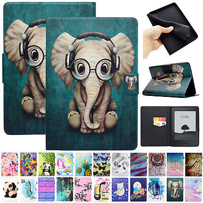 For Amazon New Kindle Paperwhite 2018 Case Smart Magnetic Wallet Leather Cover