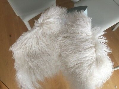 Vanessa Bruno White Fur Collar Worn Once