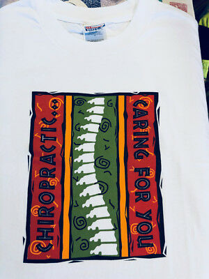4 XL Chiropractic T-Shirts, BRAND NEW, Patient Promotional, Reward, Thank you